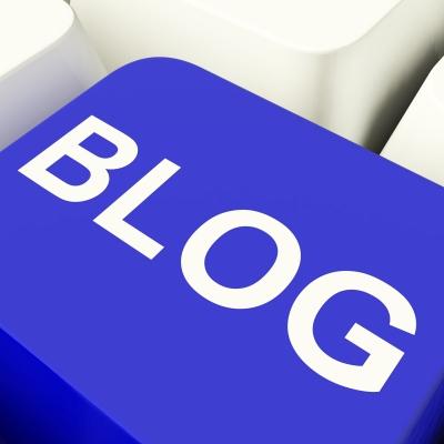 tasta blog albastra