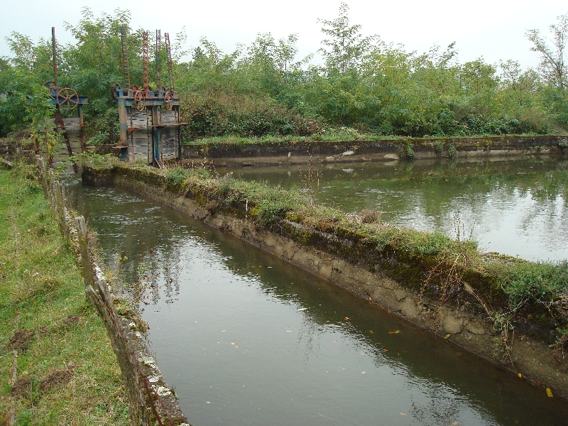 Amenajare hidro - Canalul Principal in zona Secu
