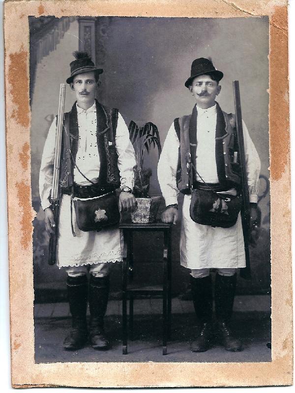 uniforma de padurar din anul 1917