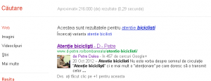 Google Authorship - exemplu