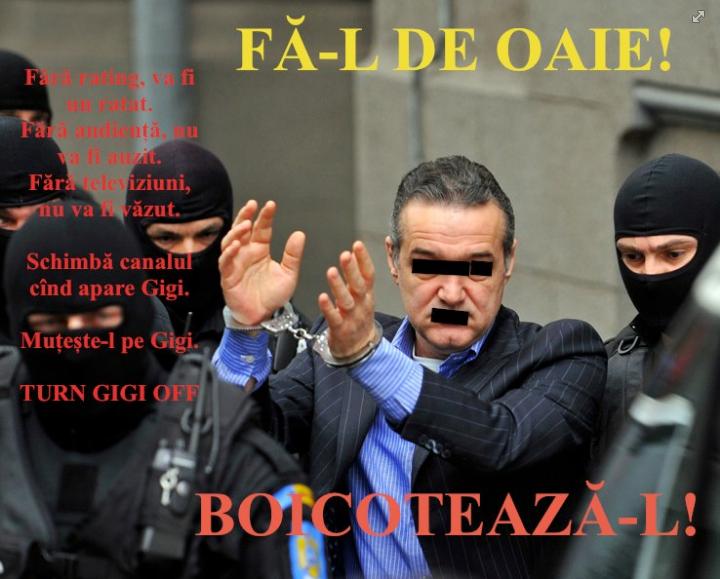 Boicoteaza-l pe Gigi Becali