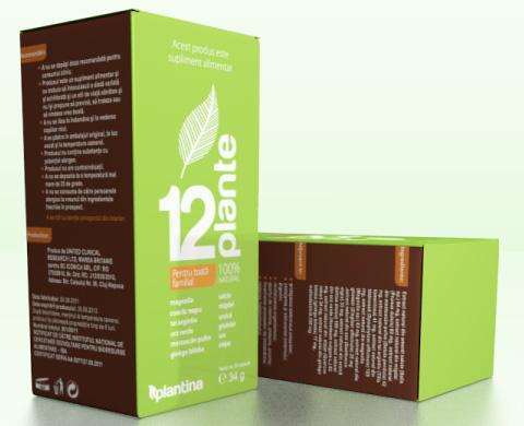supliment alimentar 12 plante