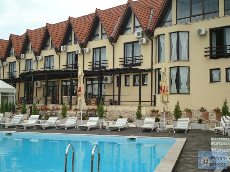 Conacul Archia - piscina