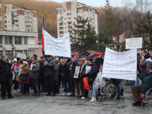 proteste la Resita