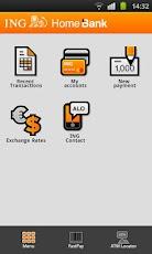 ing home'bank pentru Android