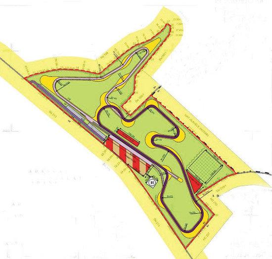 circuit profesionist de viteza