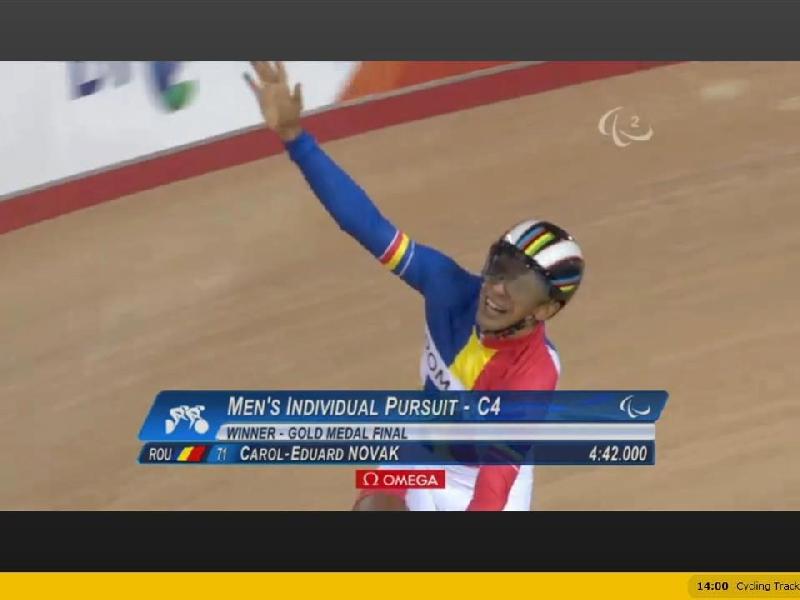 Eduard Novack - medalie de aur la ciclism