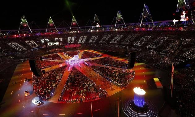 stadionul olimpic din Londra la festivitatea de inchidere a JO 2012