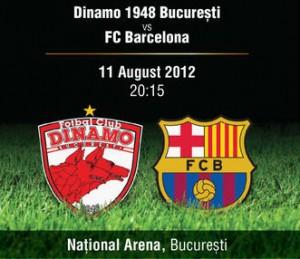 Dinamo Bucuresti vs FC Barcelona