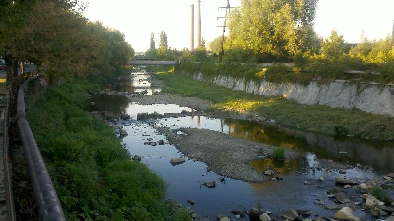 Barzava secata la trecerea prin Resita - Septembrie 2012