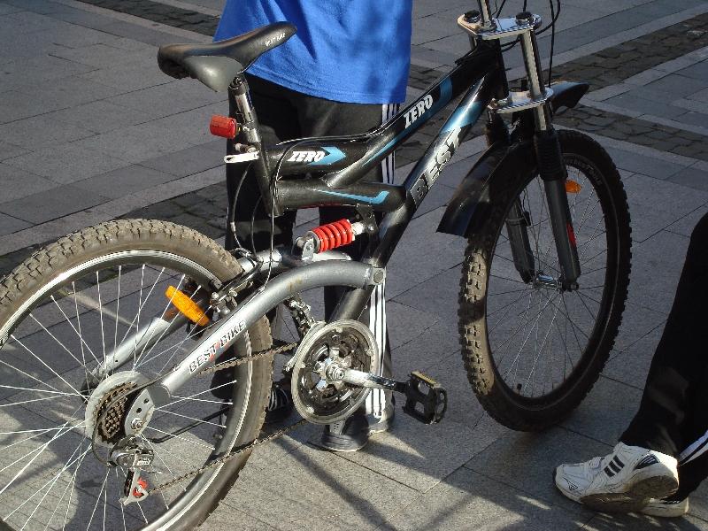 Bicicleta pregatita pentru mars.