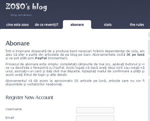 Bloguri cu abonament