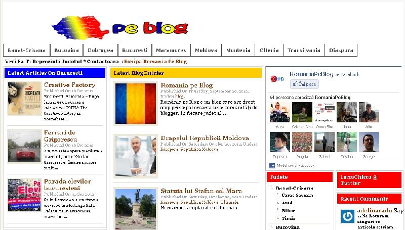 Romania pe Blog