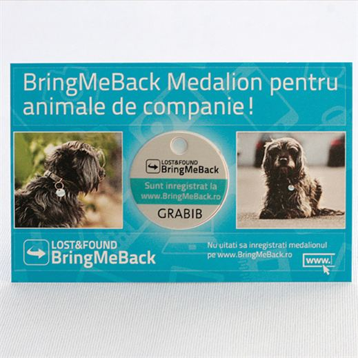marker medalion animale BMB
