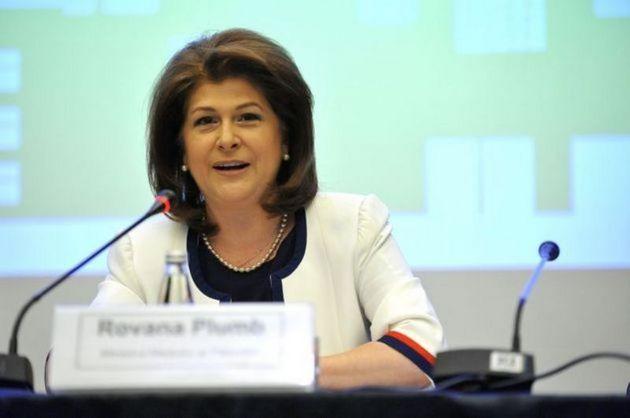 Ministrul mediului Rovana Plumb