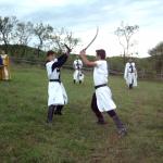 Conacul Archia - Lupte cavaleresti