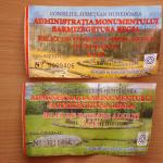 bilete de intrare la Sarmizegetusa Regia